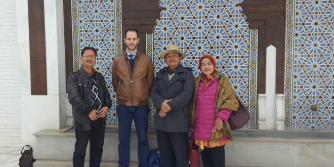 Visit of Indonesian delegation to Granada Mosque