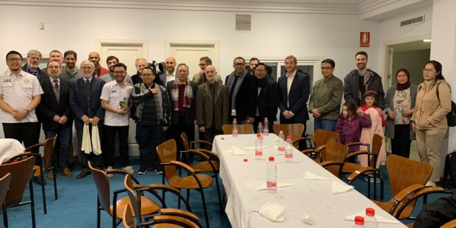 Recepción a delegación indonesia