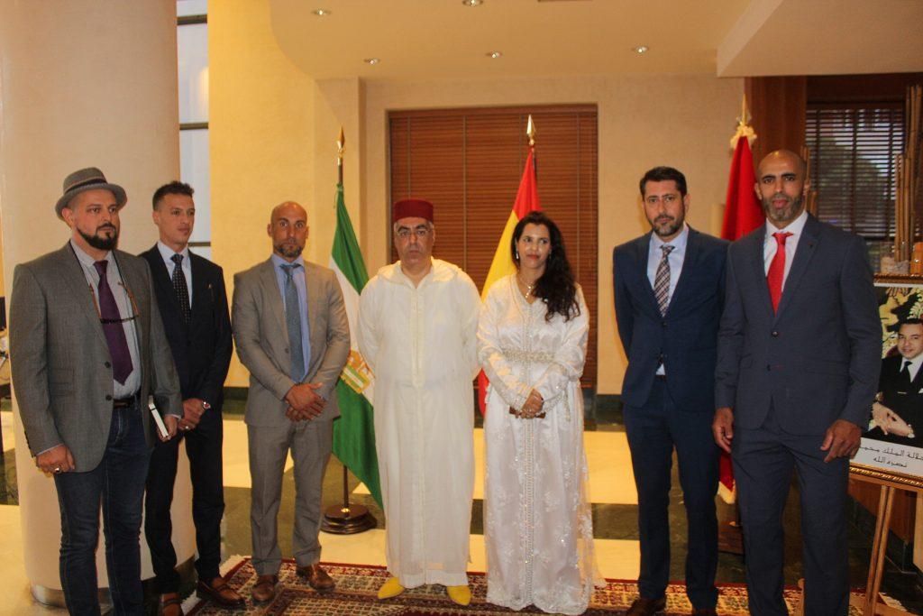 Foto familia consul mezquita